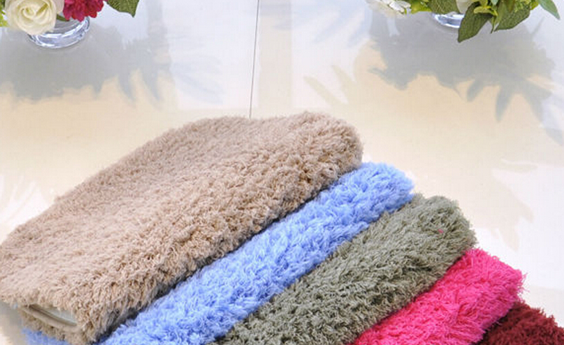 anti slip microfiber soft floor mat