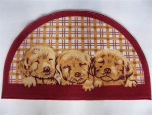 Lovely Door Mat With Dog , Cat Pattern