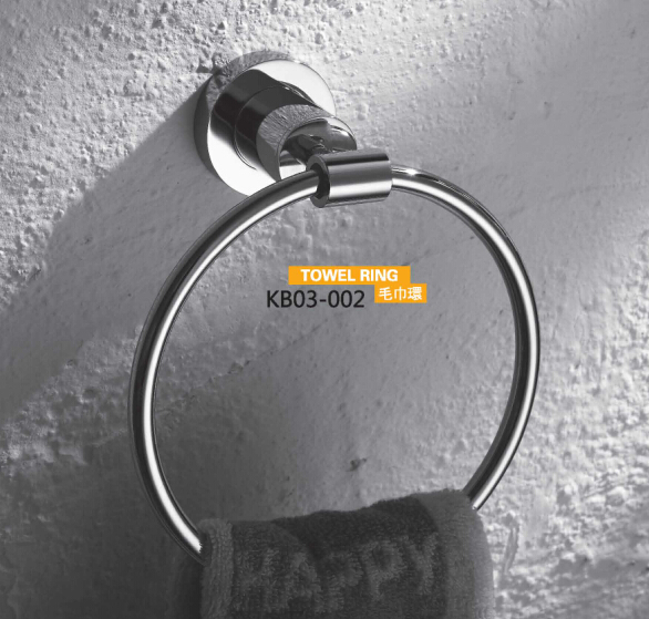 Brass Bathroom Accessories- Towel Ring KB03-002