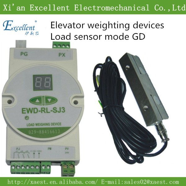 Good  lift parts elevator overload sensor, low cost load cell EWD-GD match EWD-RL-SJ3