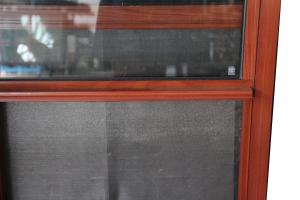 Mosquito net thermal break aluminum top hung window frames