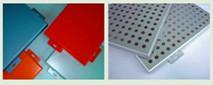 powder coated perforated aluminum sheets plates