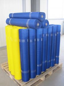 Coated Alkali-resistant fiberglass mesh cloth (gram weight 45)