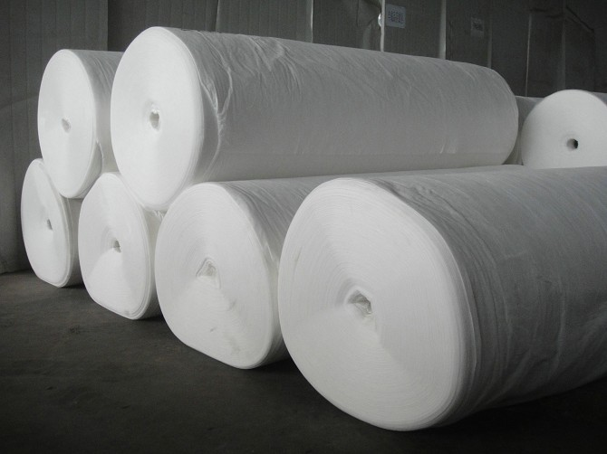 Continuous Filament Spunbonded Nonwoven Geotextile forRoad and Railway station