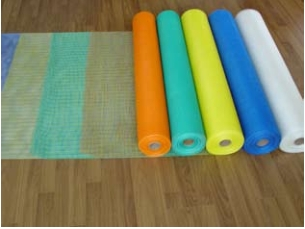 Coated Alkali-resistant fiberglass mesh cloth (gram weight 125)