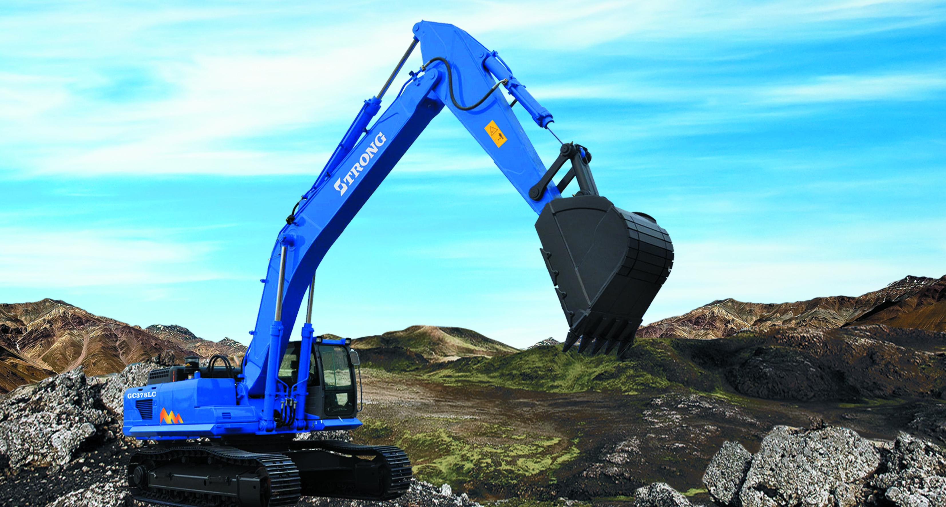 GC378LC-8 Hydraulic Crawler Excavator