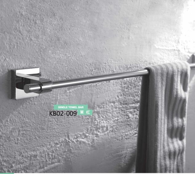 Brass Bathroom Accessories- Single Towel Bar KB02-009