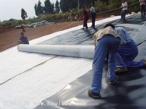 PolyesterFiberglass Geotextile  fiberglass roofing tissue