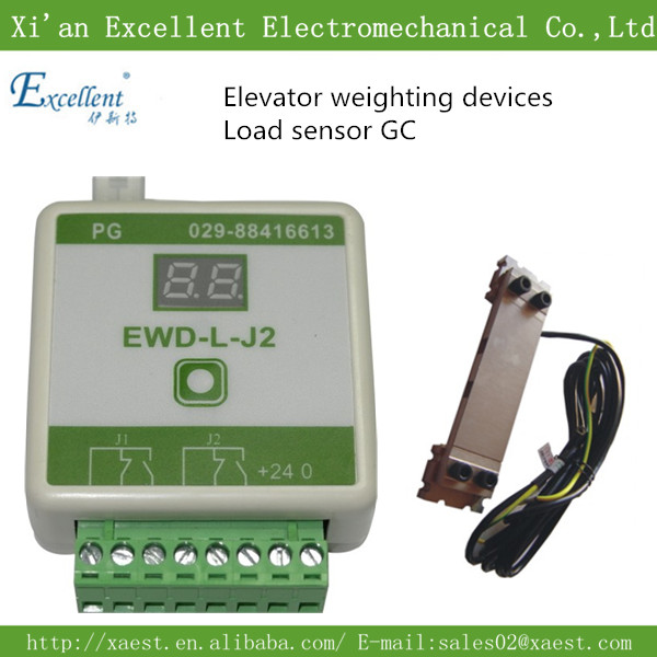 Good elevator parts load cell,load sensor model EWD-L-J2 with EWD-GC