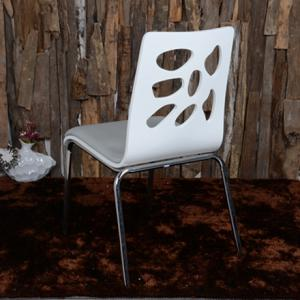 Chrome Metal Leg Dining Chair Y1071