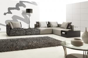 high quality Modern colorful fabric sofa  2015 new styles