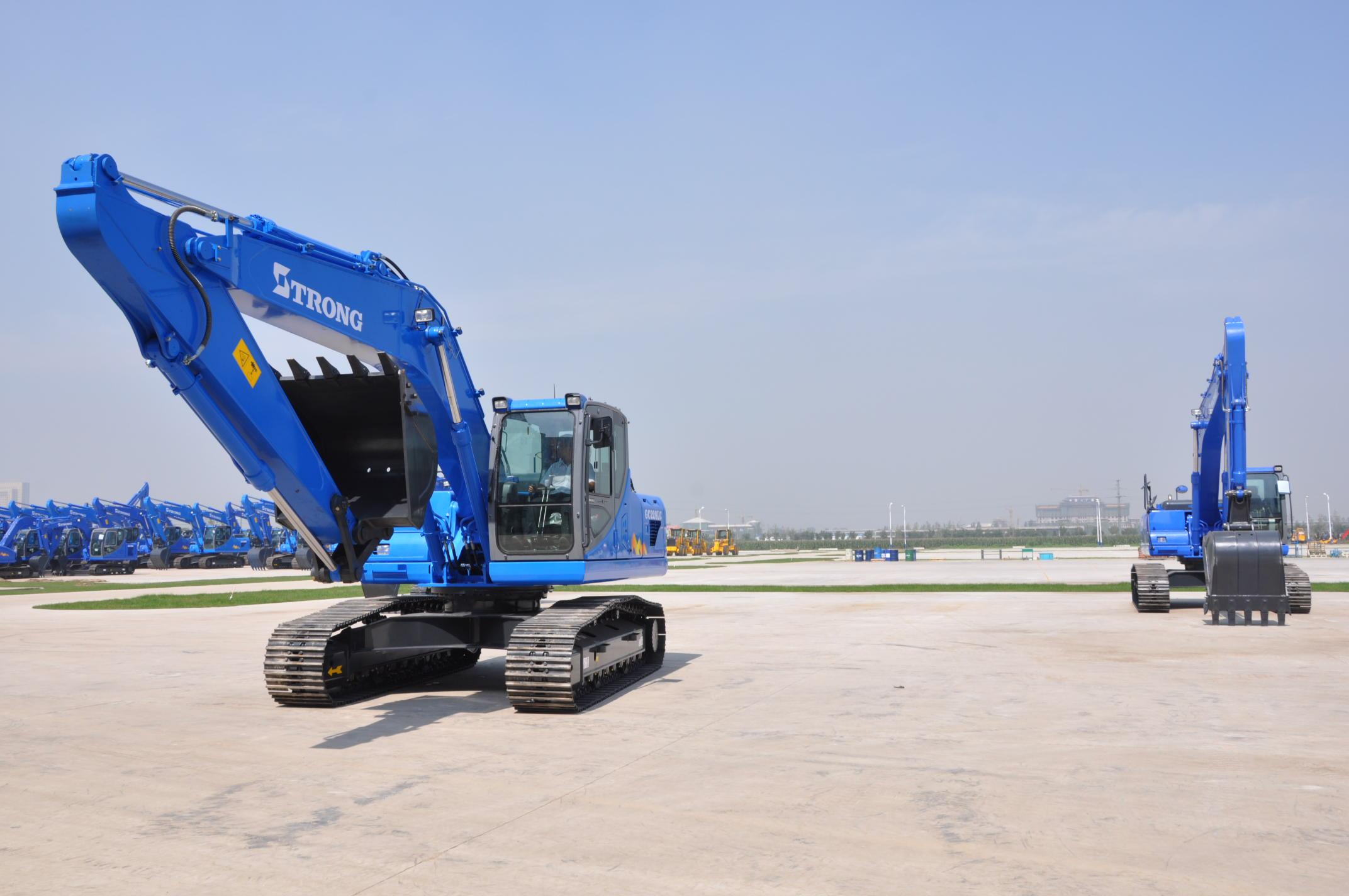 GC228LC-8 Hydraulic Crawler Excavator