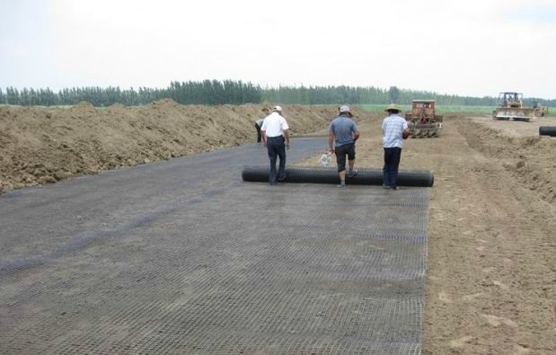 PP Baixial Geogrid for Road Railway Highway Tunnel