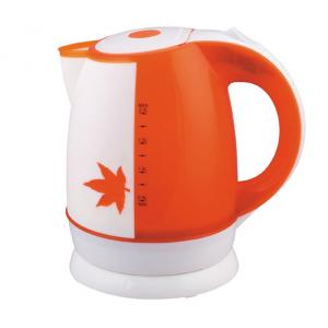Plastic Electric Kettle with capacity 1.5L/1.8L availale