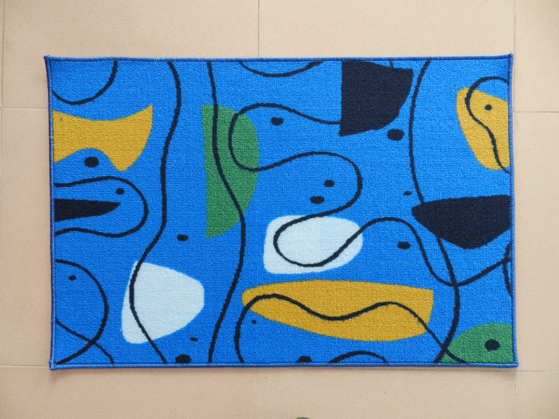Modern Design Printed Bath Mat