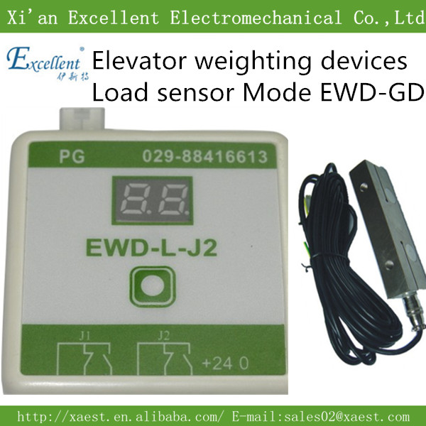 Good  elevator parts load cell ,load sensor EWD-GDwith controlType EWD-RL-J2 Elevator Weighing Device