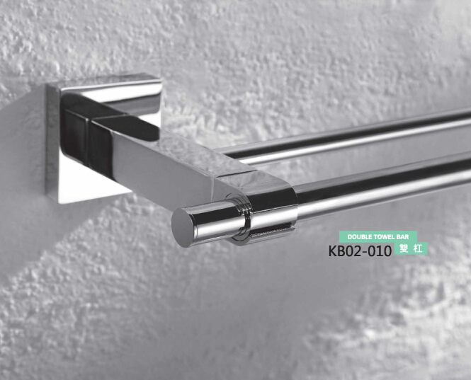 Brass Bathroom Accessories- Double Towel Bar KB02-010