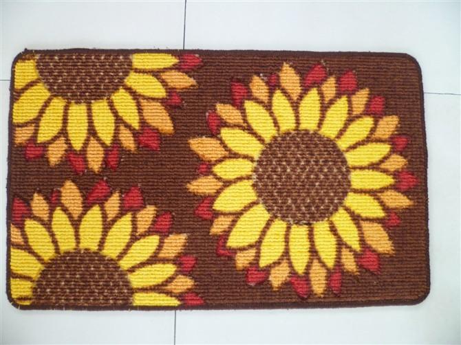 40CM X 60 CM Flower Pattern Floor Carpet