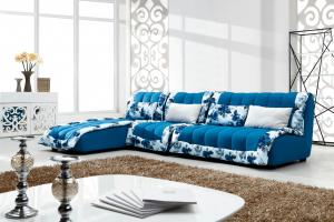Modern  colorful  fabric  sofa
