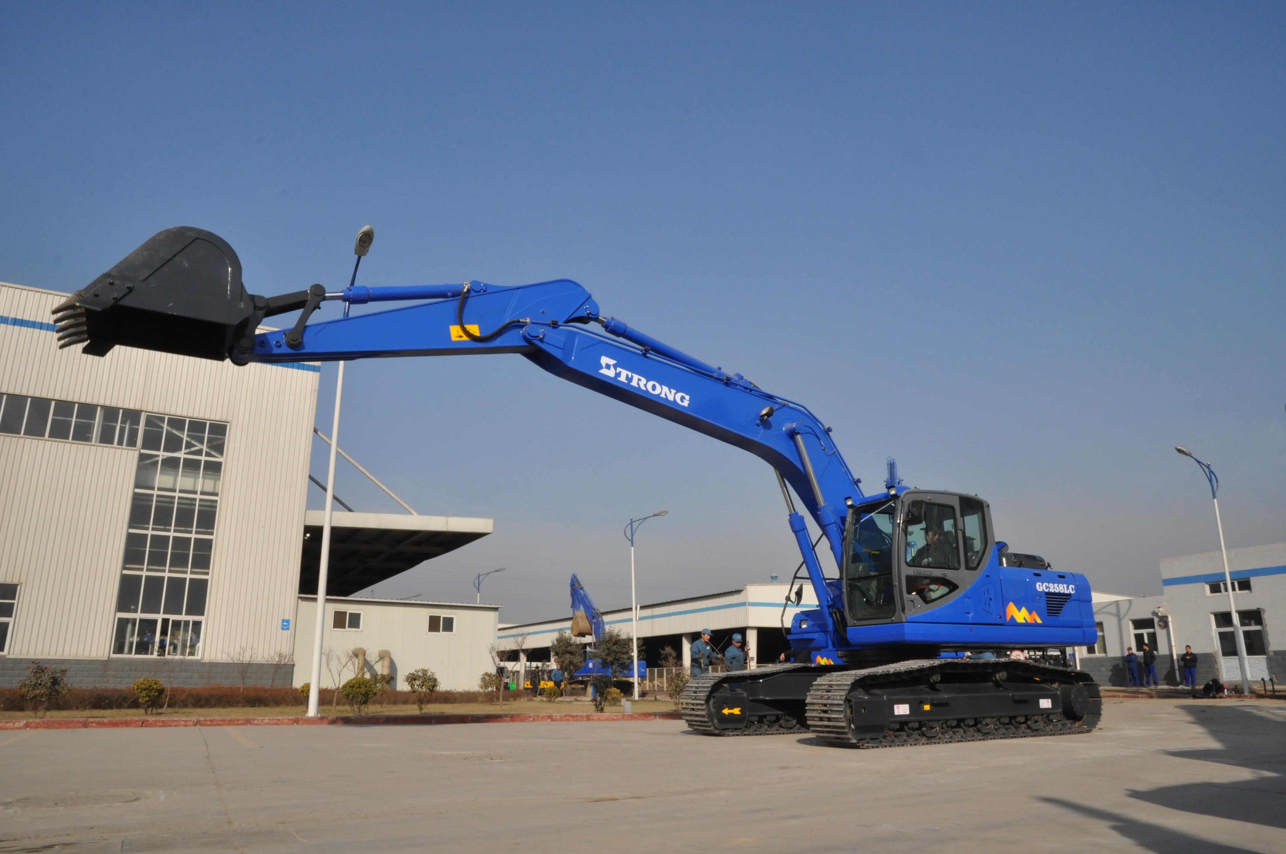 GC258LC-8 Hydraulic Crawler Excavator