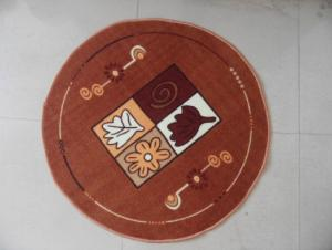 Round Printed Floor Mat with Cheap Price