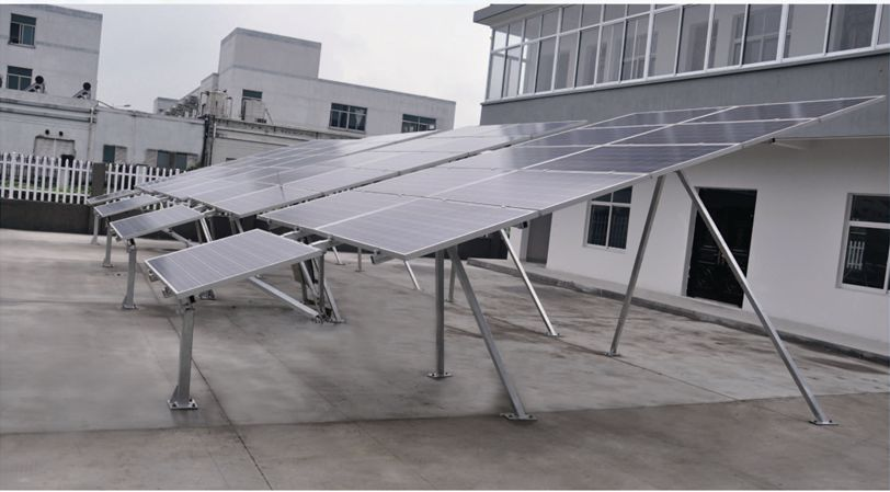 Triangle Joint Sloped Axis Tracking System for Solar System