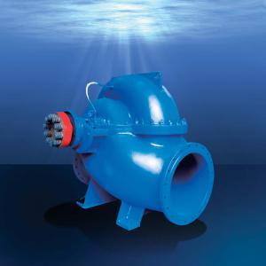 S type horizontal split casing double suction pump