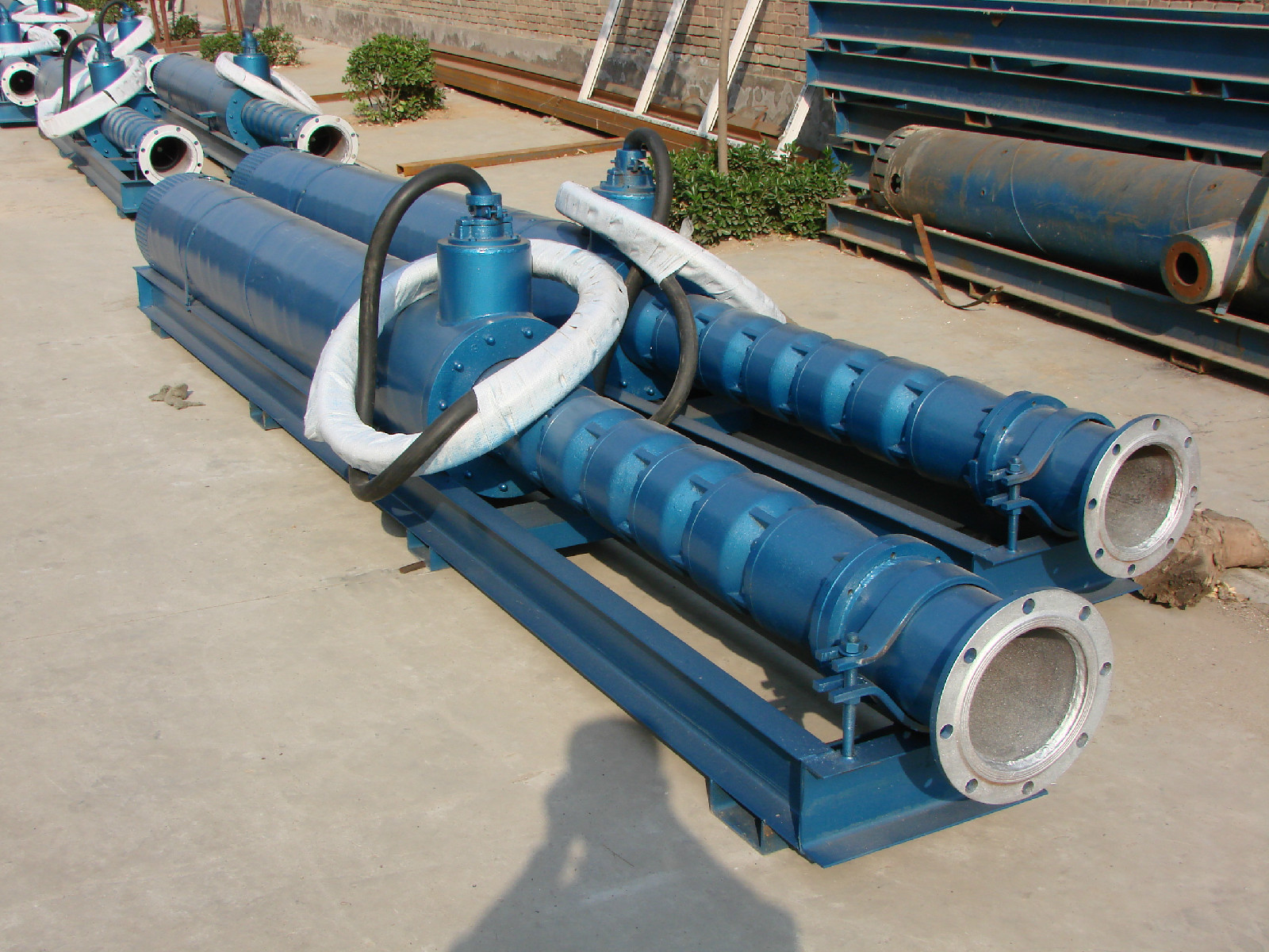 AT540 Suspended Impeller Structure Submersible Pump