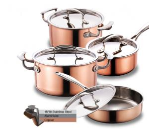 Tri ply Stainless Steel Cookware Sets