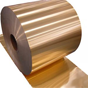 Hydrophilic Aluminium Fin Stock Gold, Blue Color Coating Aluminium Foil for Air Conditioning