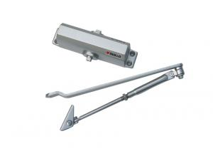 Floor spring door closer