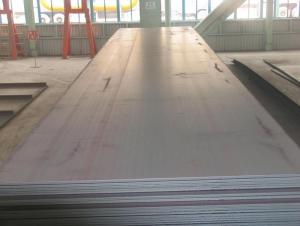 The A537CL2 container steel plate production