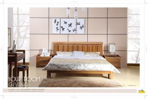 Classic wooden bed high quality