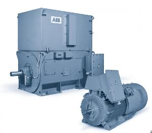 ABB High Voltage Induction AC Motor