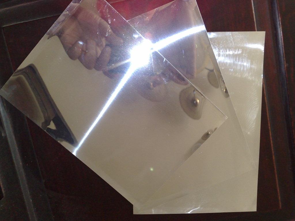 Mirror aluminium coil