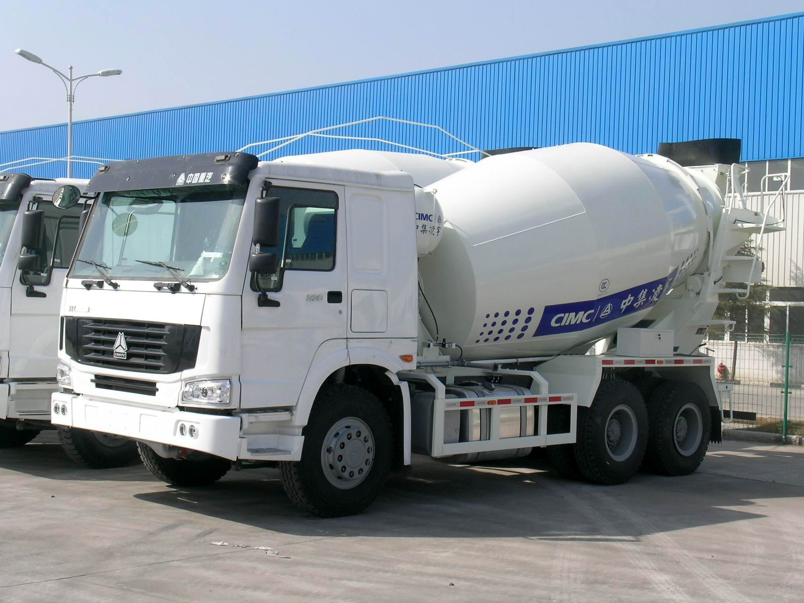 9m3 concrete mixer truck(HOWO chassis)