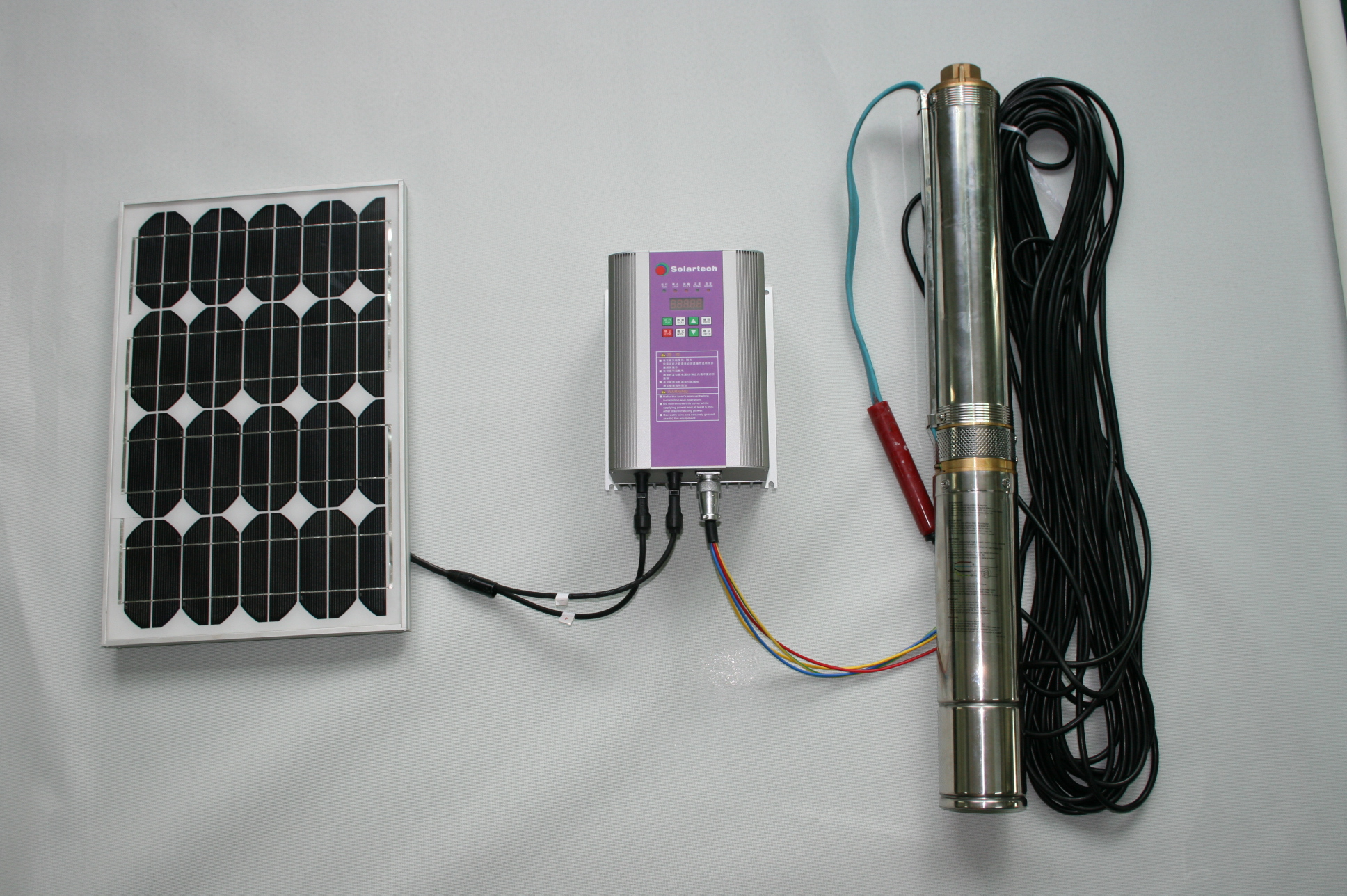 Solar Pumping Systems for Irrigation or Home Use
