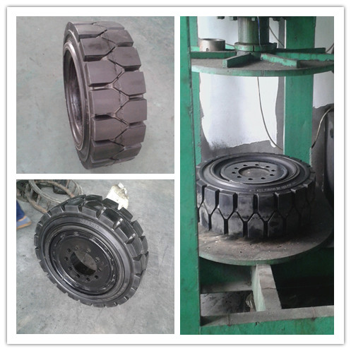 Industrial Forklift Solid Tyres 815-15