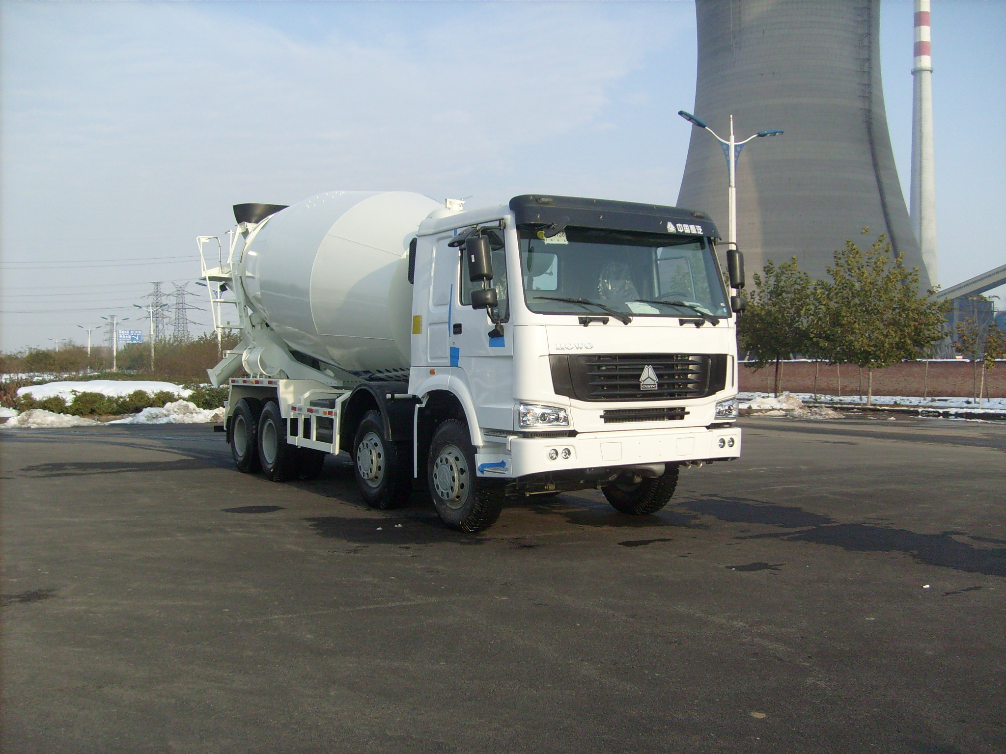 15m3 concrete mixer truck(HOWO chassis)