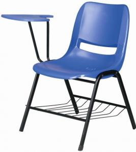 colorful new design cheap plastic chair with chrome legs