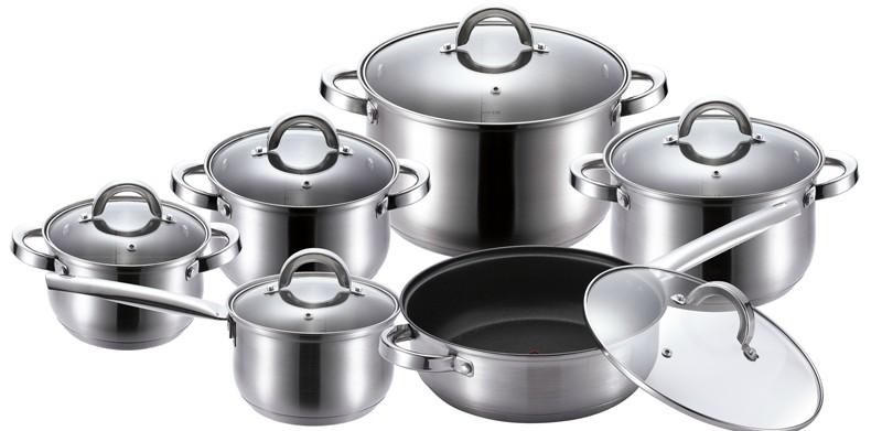 Hollow Series Stainless Steel Cookware Set