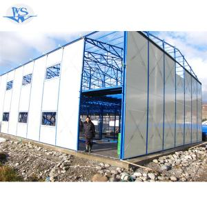 economic modular steel prefabricated building houses