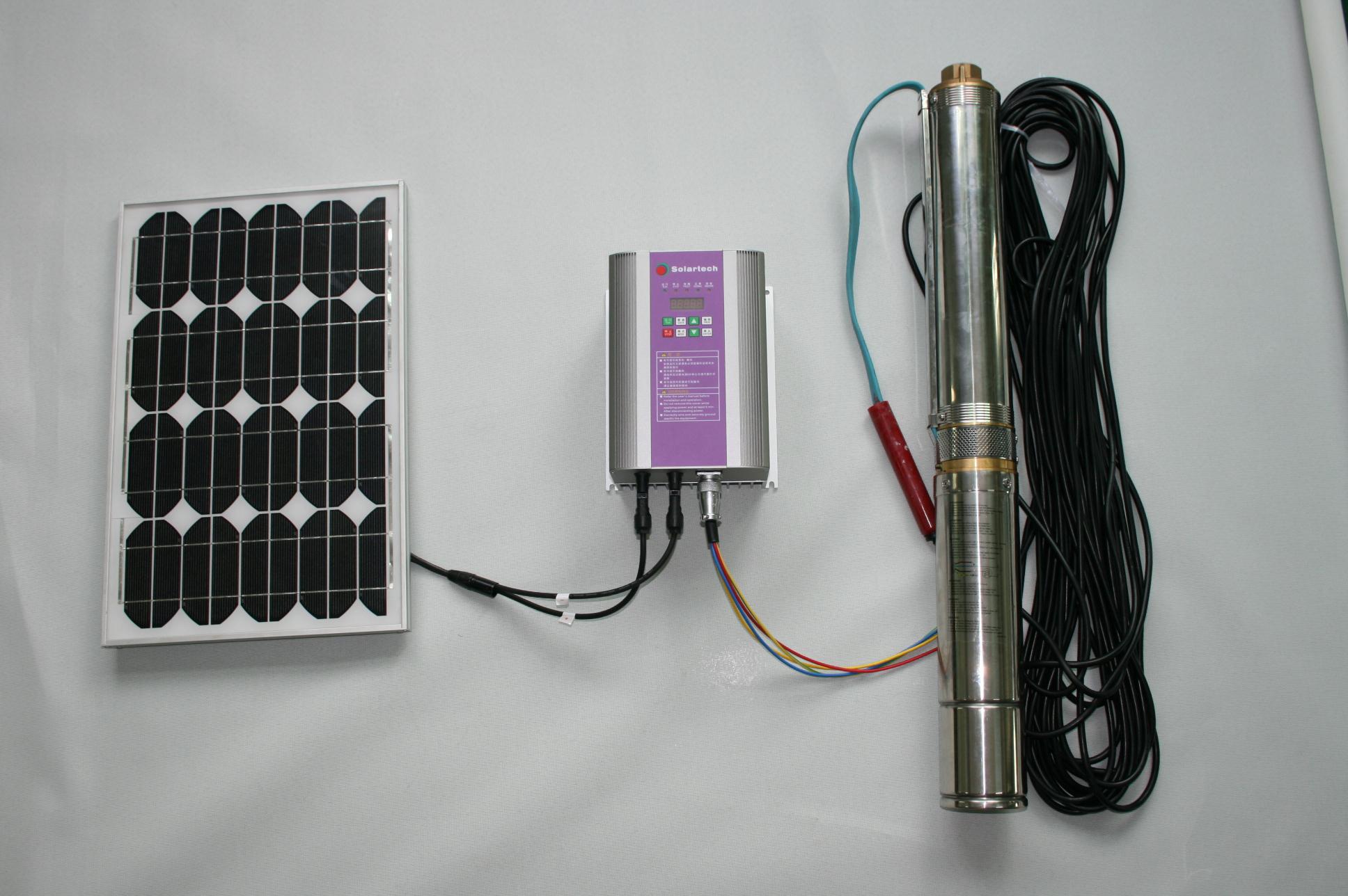 DC Solar Pump 600W 48V Solar Pumping System