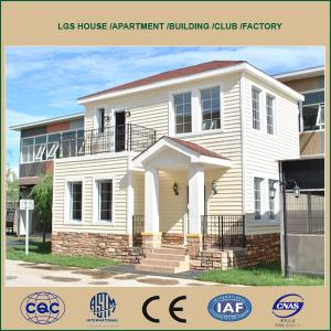 Light Steel Prefabricated House LGS and Villa