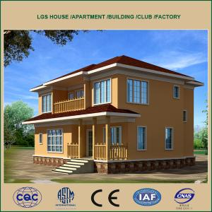 Prefabricated Light Steel Structure Villa and House