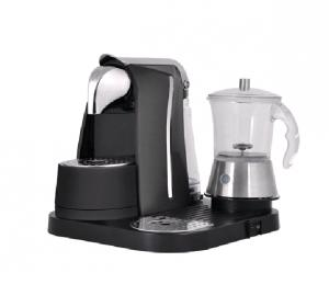 Capsule Electric Italian Coffee Maker with Transparent Frother _S0101G