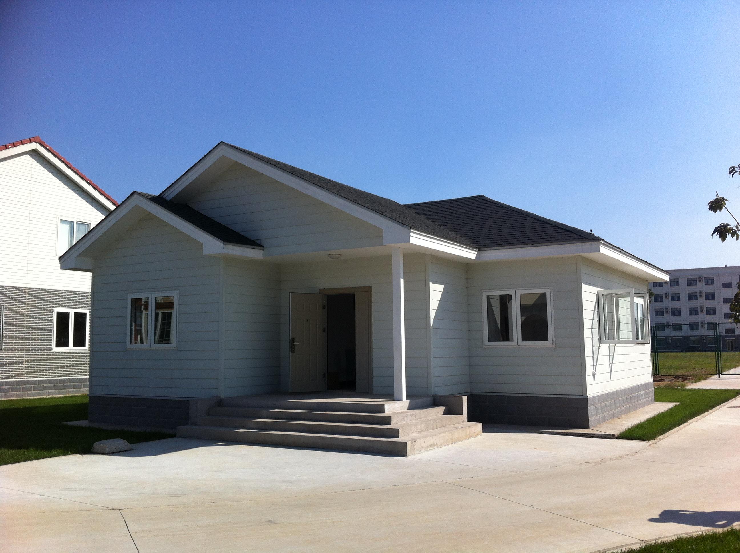 Compre casa de poca altura con estructura ligera de acero seg n precio tama o peso modelo o - Casas de acero precios ...