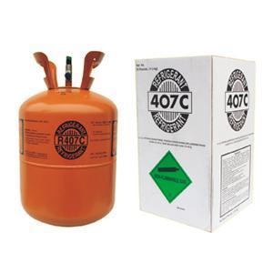 Blend Refrigerant R407c Gas