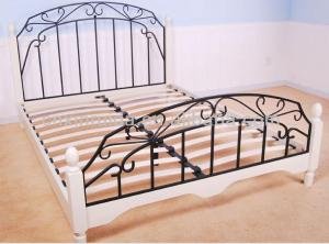 Metal Single Princess Bed Modern Design CMAX-A19