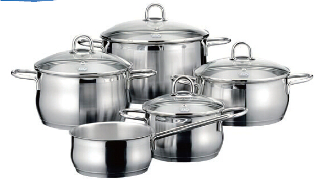Wire Series Stainless Steel Cookware Set